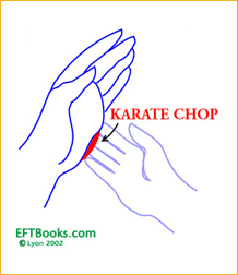 Karate chop point